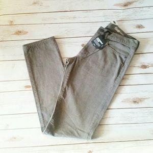 New GAP 1969 Slim Charcoal Gray Jeans 32 x 36